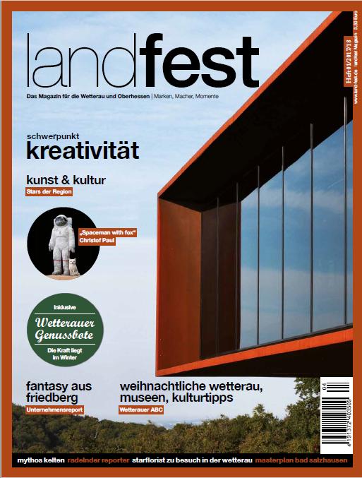 Das neue Magazin landfest für die Region Wetterau