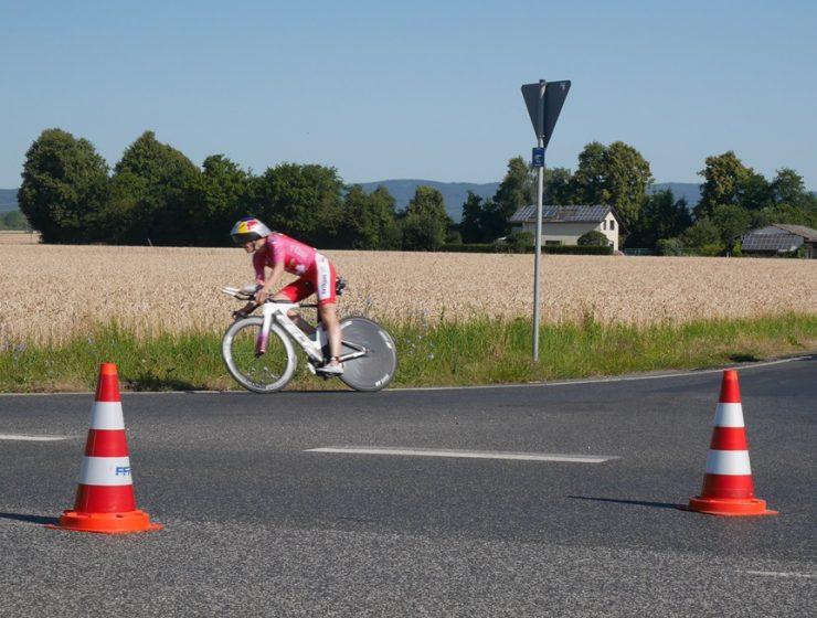 Daniela Ryf beim Ironman 2018